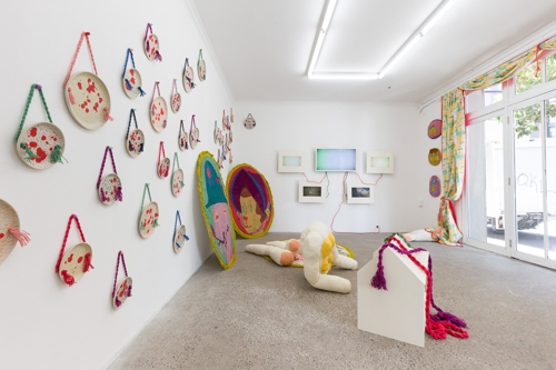 Katy B Plummer, THE HOOVED AND THE CLAWED, installation view. image