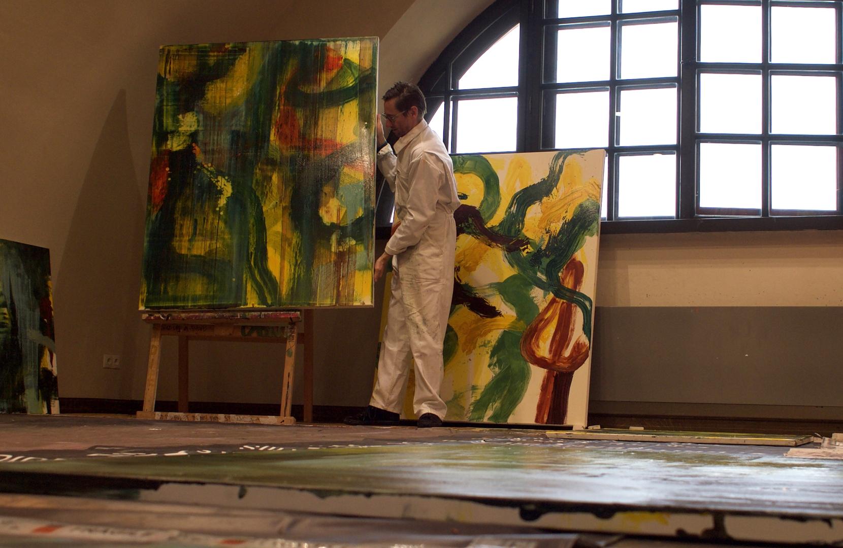 Anthony White at The Mark Rothko Centre, Latvia image