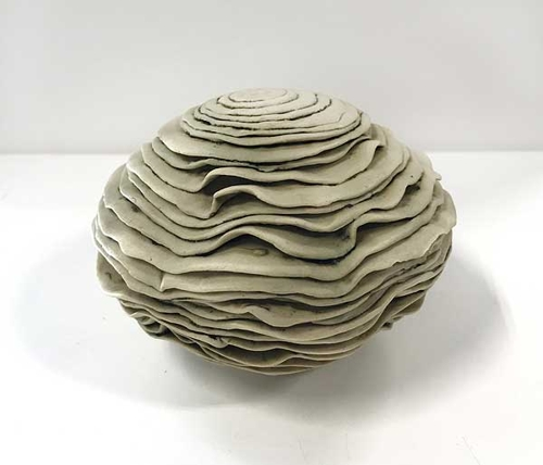 Melinda Le Guay, 'Untitled' c1976, porcelain, 7.5 x 10.5 x 10cm image