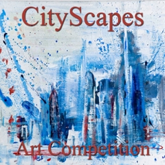 """Call for Art – 8th Annual """"CityScapes"""" Online Art Competition image"""