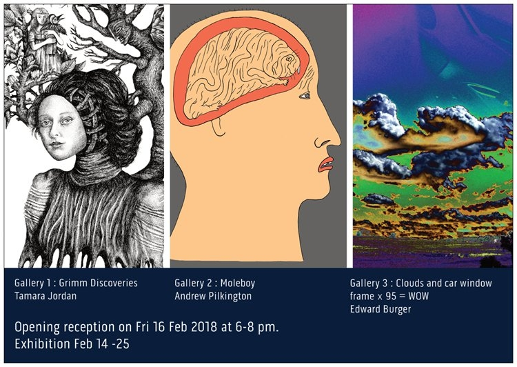 Opening Exhitions at BlackCat Gallery, Collingwood image