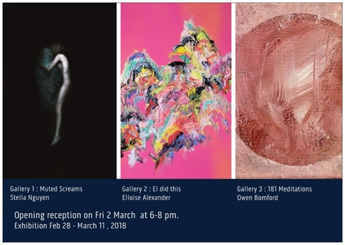 Opening exhibitions at Blackcat Gallery, Collingwood  image