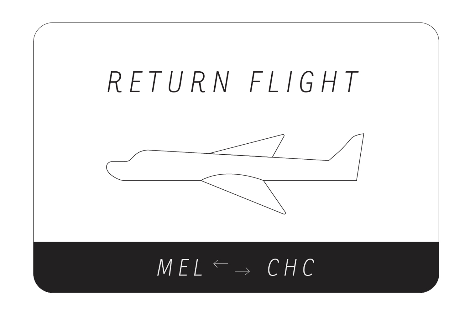 RETURN FLIGHT MEL>CHC | Curated by Elizaveta Maltseva image