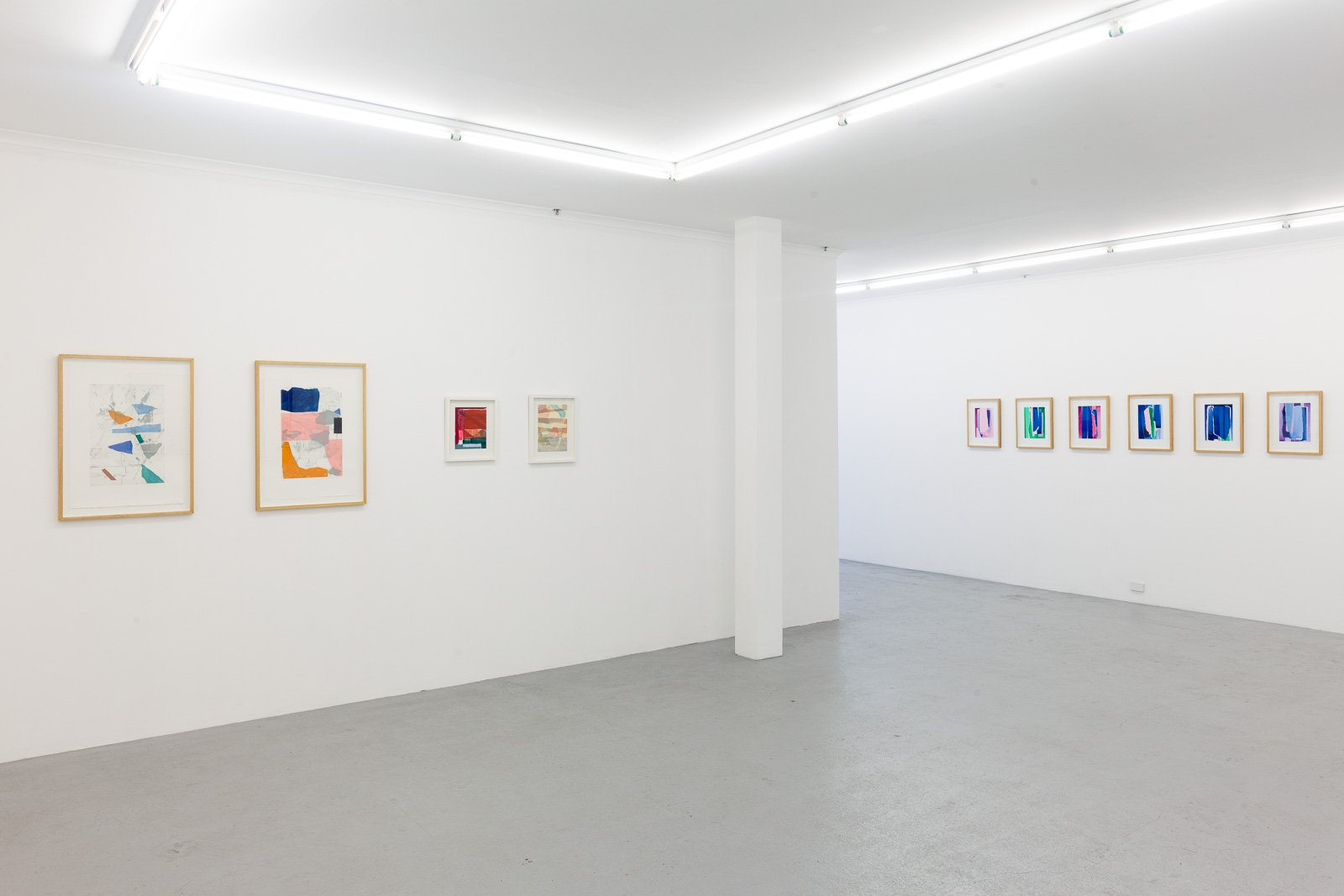 L: Mason Kimber R: Scott Gardiner, installation view image