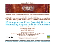 AIR/HMC Budapest, International Artists in Residencies exhibition image