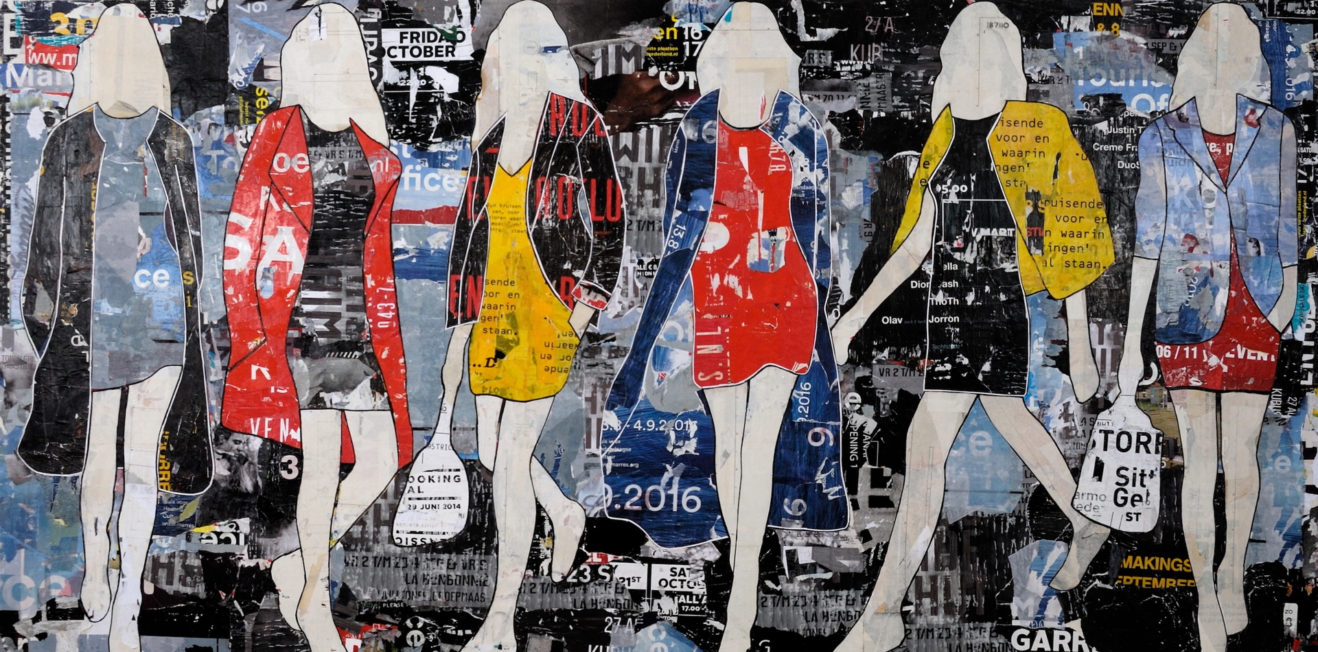 Billboard Walking Girls image