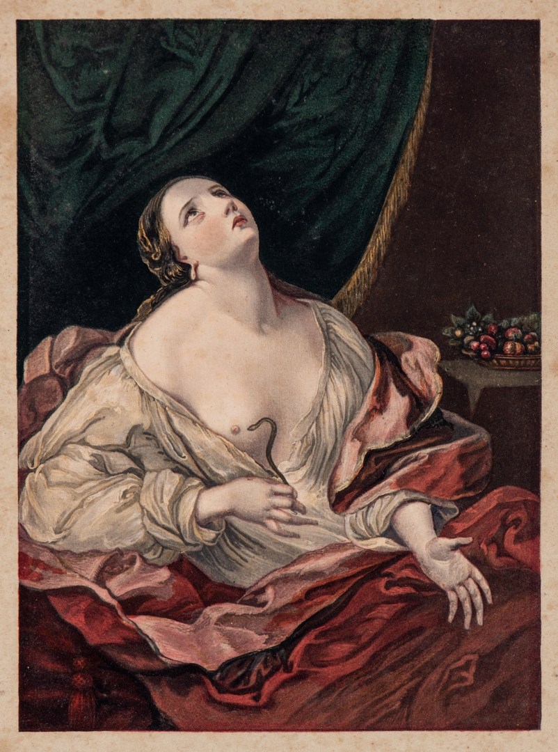 George Baxter (After Guido Reni), Cleopatra with the Asp image