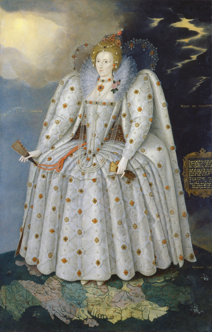 Queen Elizabeth I (The 'Ditchley' portrait)  image