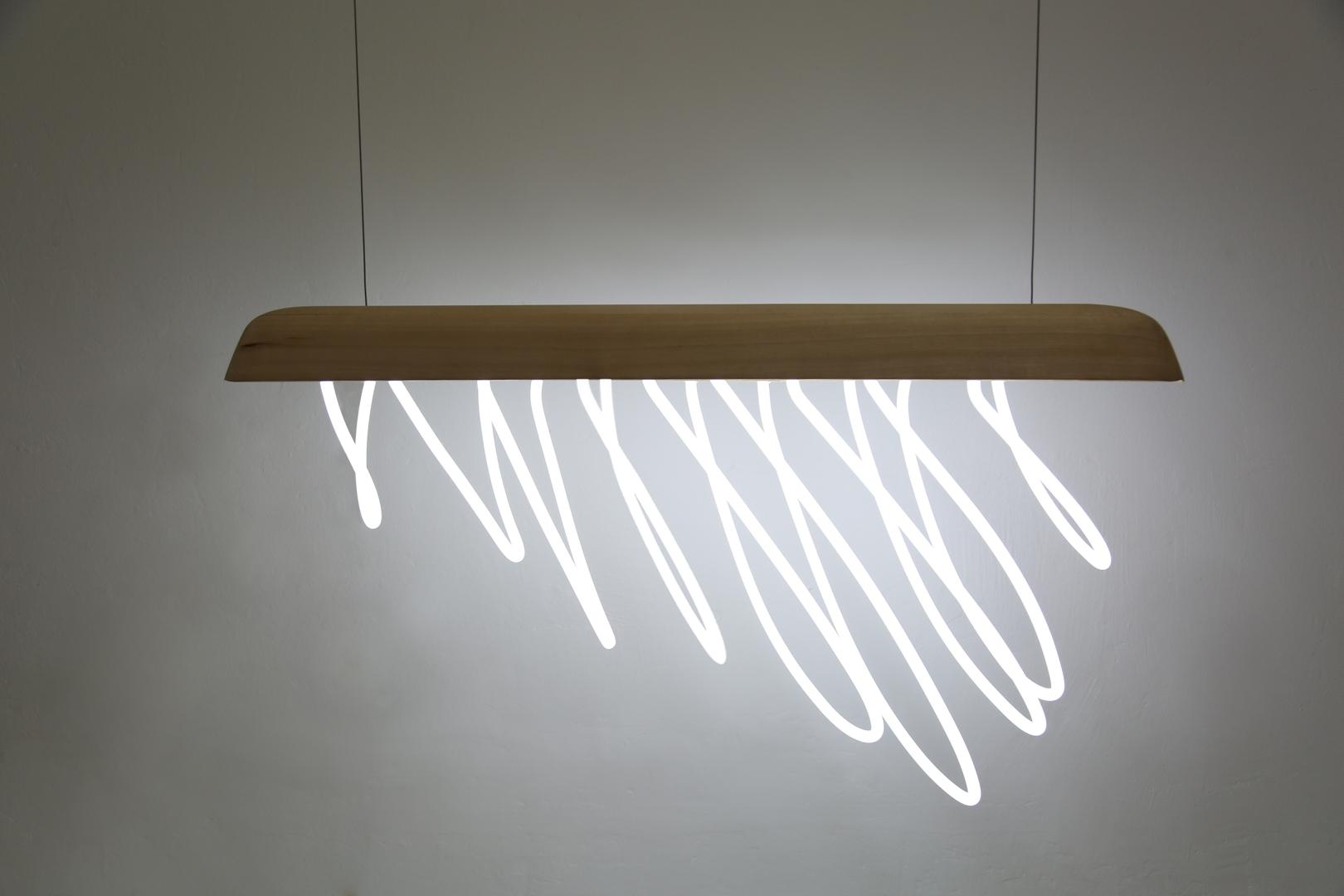 Constance  Guisset  La  pluie  dans  la  maison  ceiling  lamp  2012   image