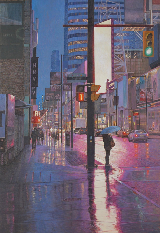 COLIN FRASER: Sunny Days and City Lights - New Paintings image