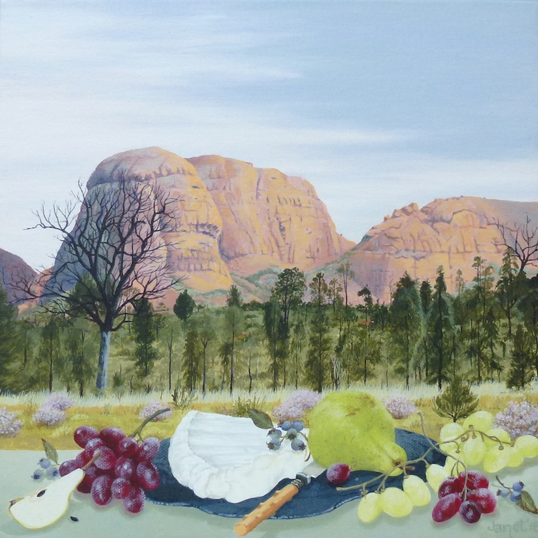 Still Life with Grape, Kata Tjuta image
