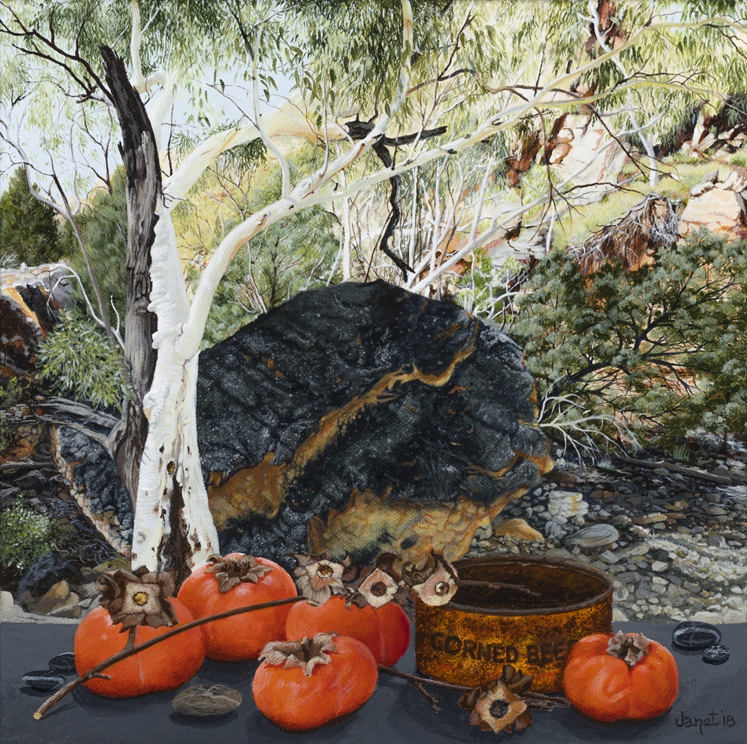 Still Life with Persimmons, Anthwerrke, Emily Gap image