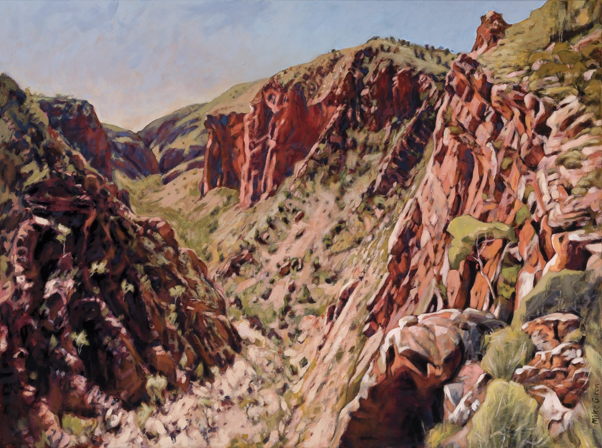 Overlooking Ulpma, Serpentine Gorge image
