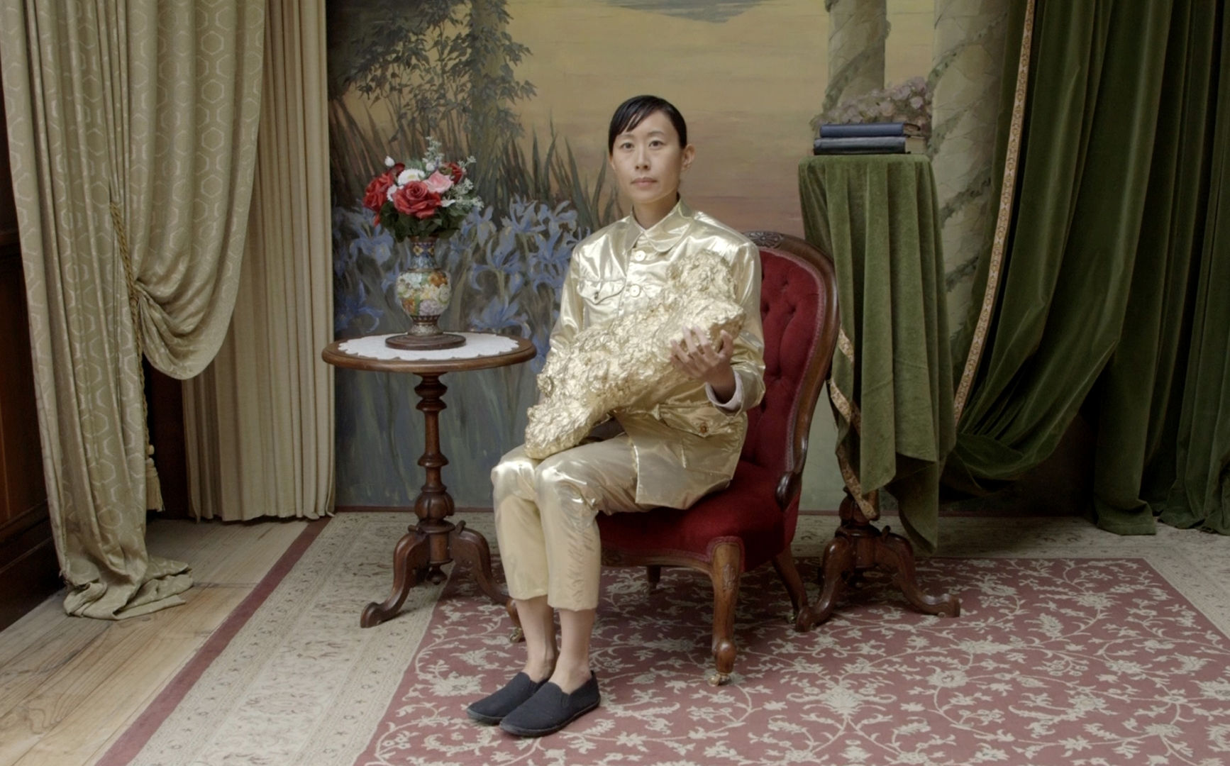 Eugenia Lim Yellow Peril 2015 (detail) Single HD video: colour, sound 17 minutes 55 seconds  image