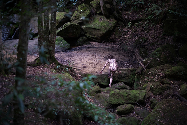 Nicole Welch, 'Transformation' 2018, two-channel HD video (still). Photo credit: Bill Moseley  image