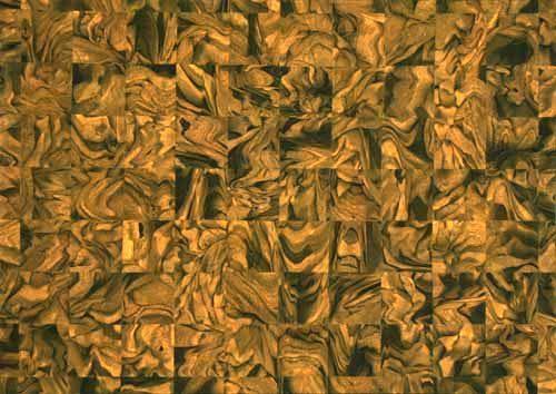 Shinozaki Yuko, Jinen-02,Collage, 20'' x 28'' image