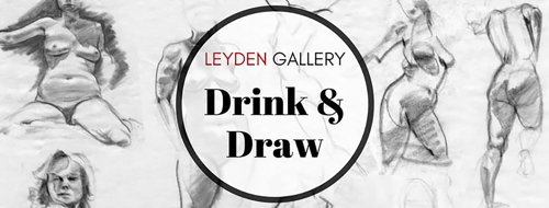 Drink & Draw: Life drawing with wine! image