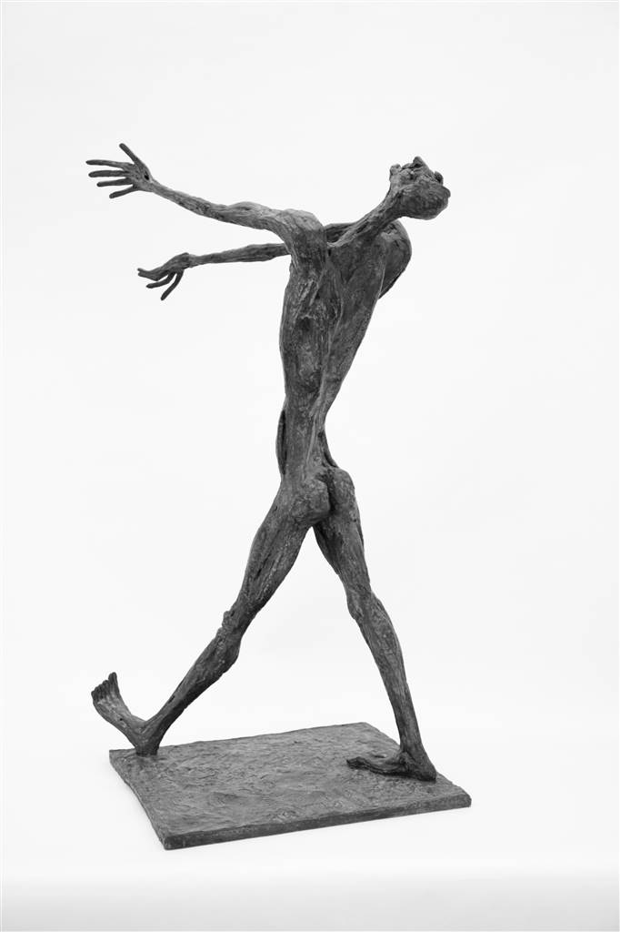 Emil Silberman, Untitled,Bronze, 35'' x 18'' x 18'' image