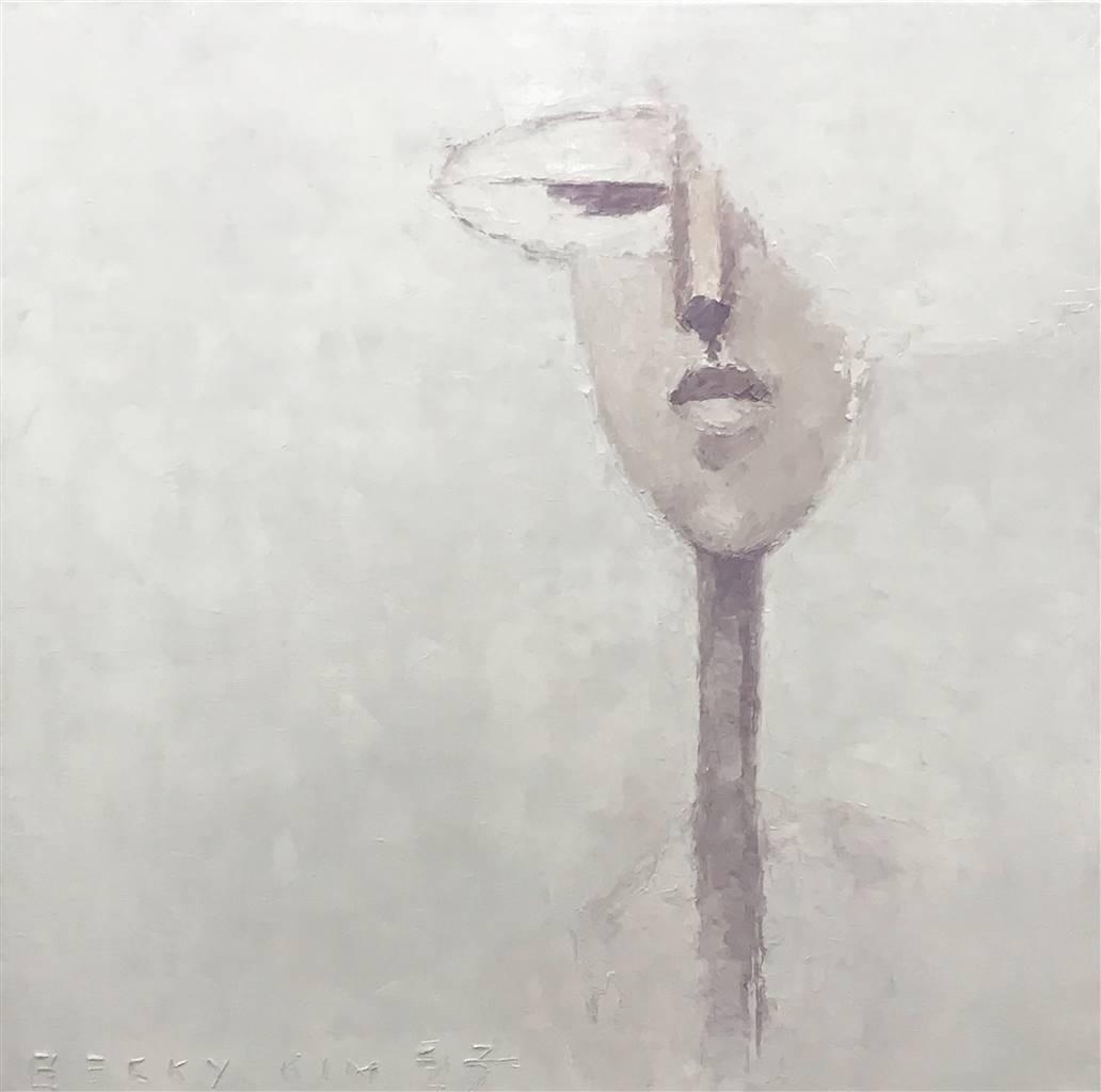 Becky Sungja Kim,City,Oil on Canvas, 20'' x 20'' image