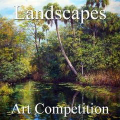 """9th Annual """"Landscapes"""" Online Art Competition image"""
