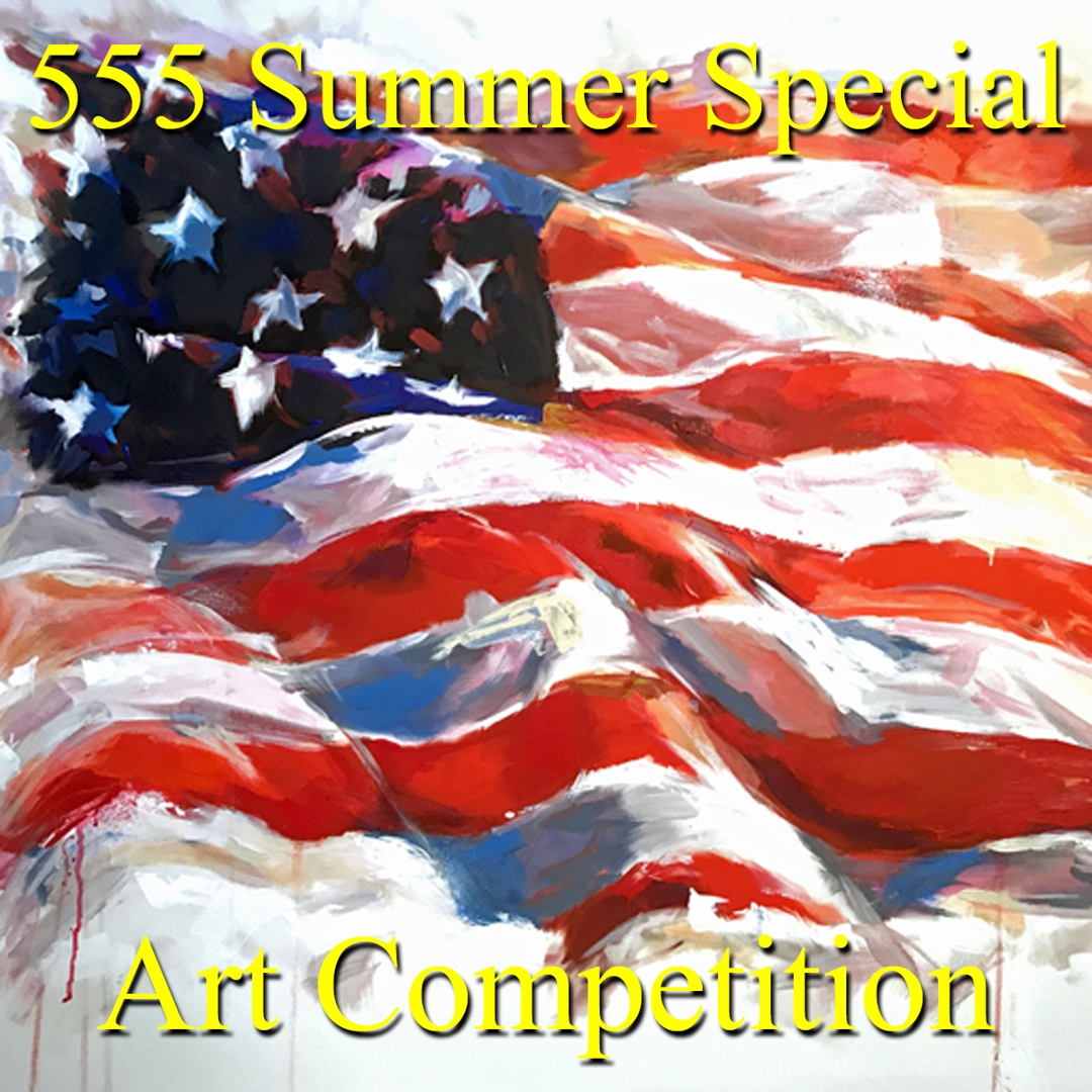 """5 Dollars, 5 Entries, 5 Winners!"" – Summer Special Art Competition image"