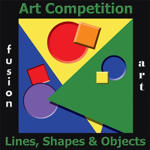 Lines, Shapes & Objects Art Competition image