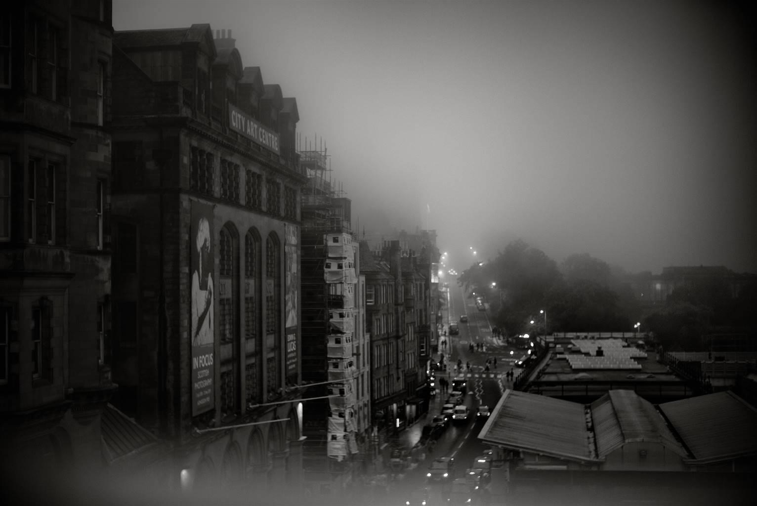 Kazuhiro Ueda, 05_Tender of the Night Fog, Photograph on Fine Art Paper, 12'' x 18'' image