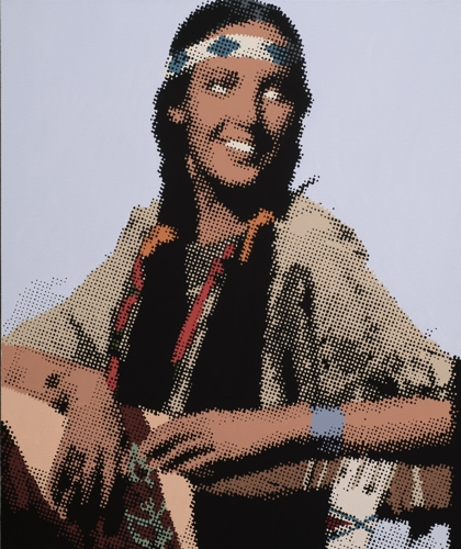 Indian Maiden image