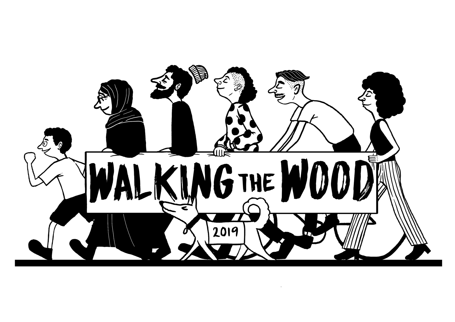Walking the Wood image