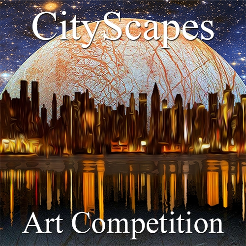 "Call for Art – 10th Annual ""CityScapes"" Online Art Competition image"