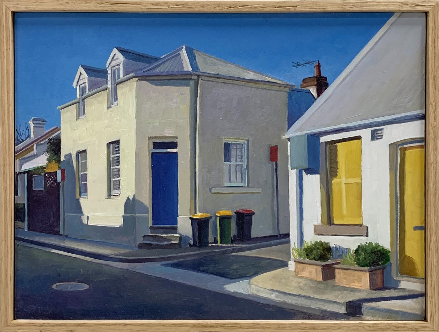 Blue door yellow window - Prospect St, Paddington image