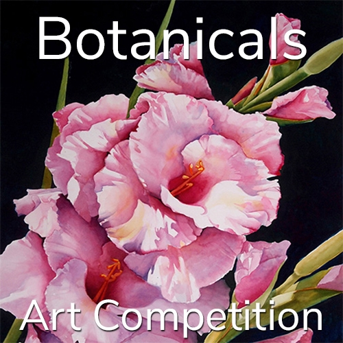 """Call for Art - 10th Annual """"Botanicals"""" Online Art Competition image"""