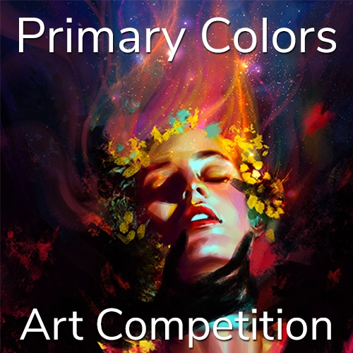 """Call for Art – 2nd Annual """"Primary Colors"""" Online Art Competition  image"""