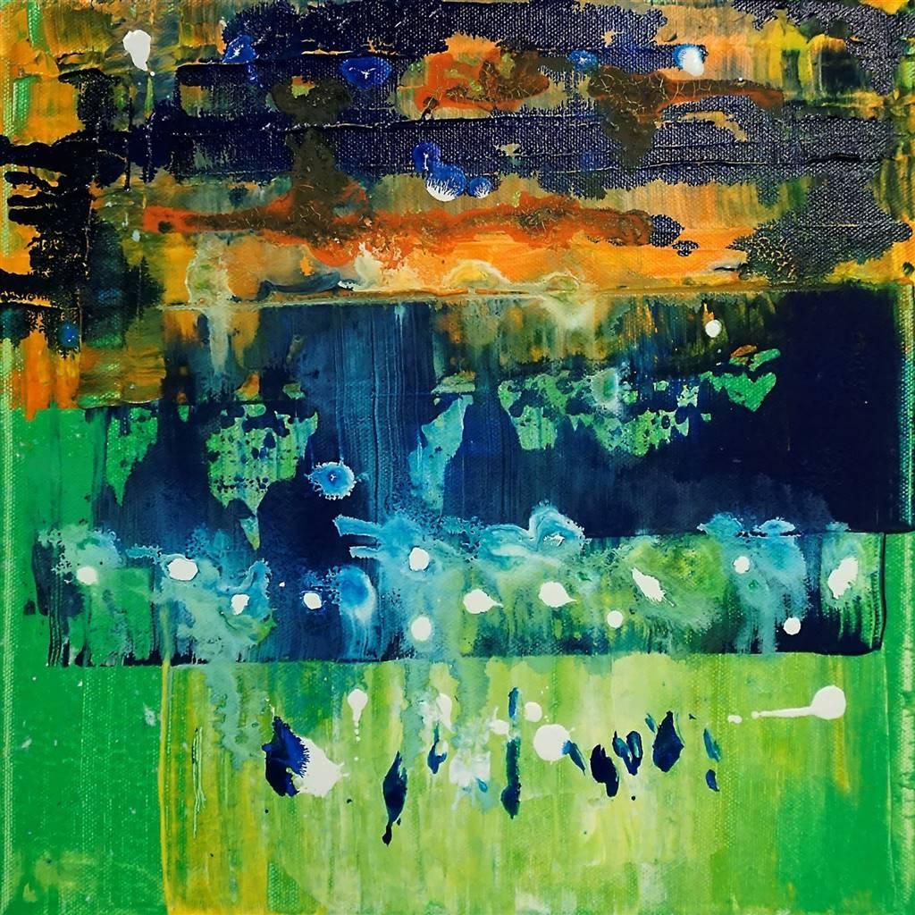 Marianne Durach, Sunset, Acrylic on Canvas image