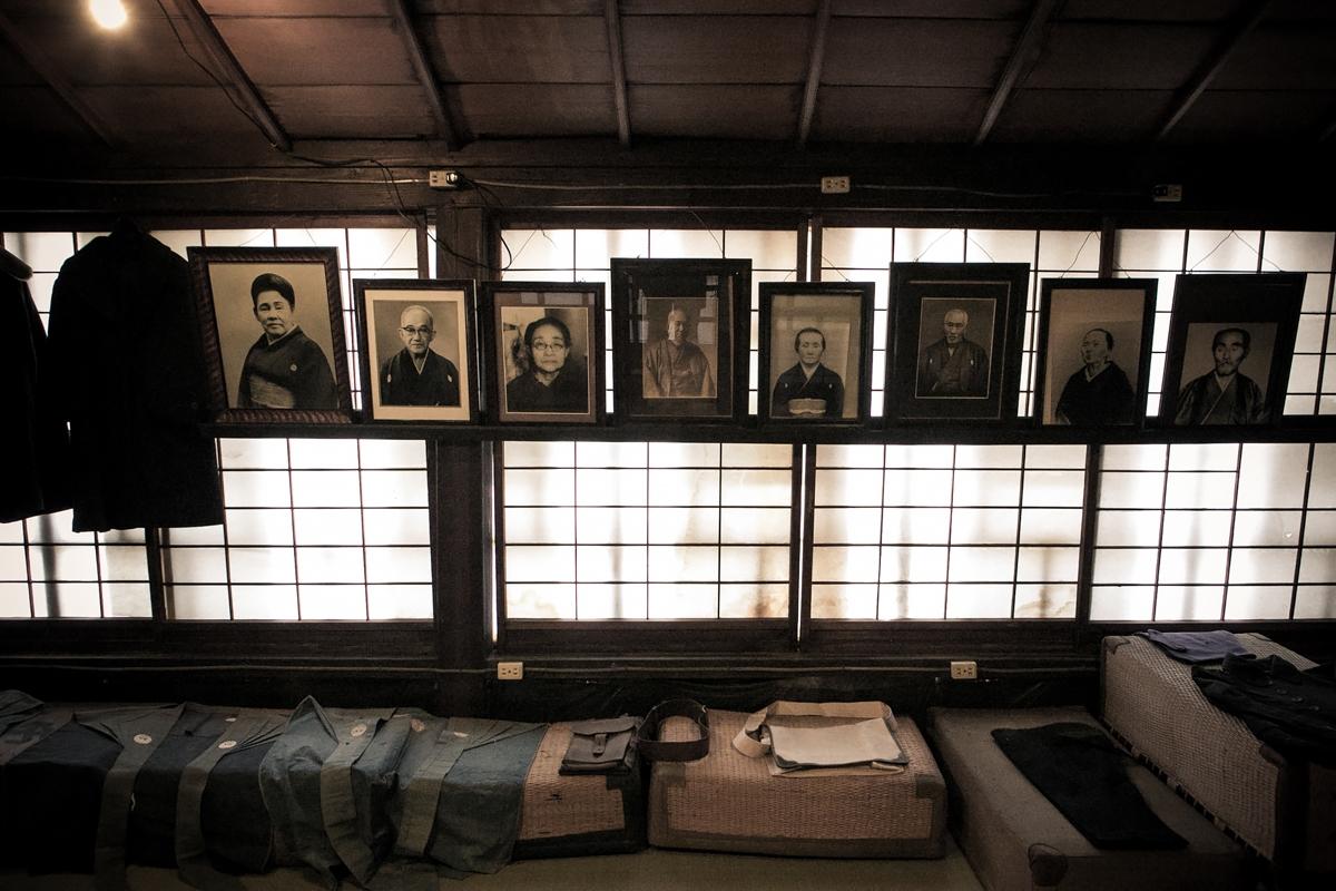 Ancestors portrait in a 130-year-old liquor store image