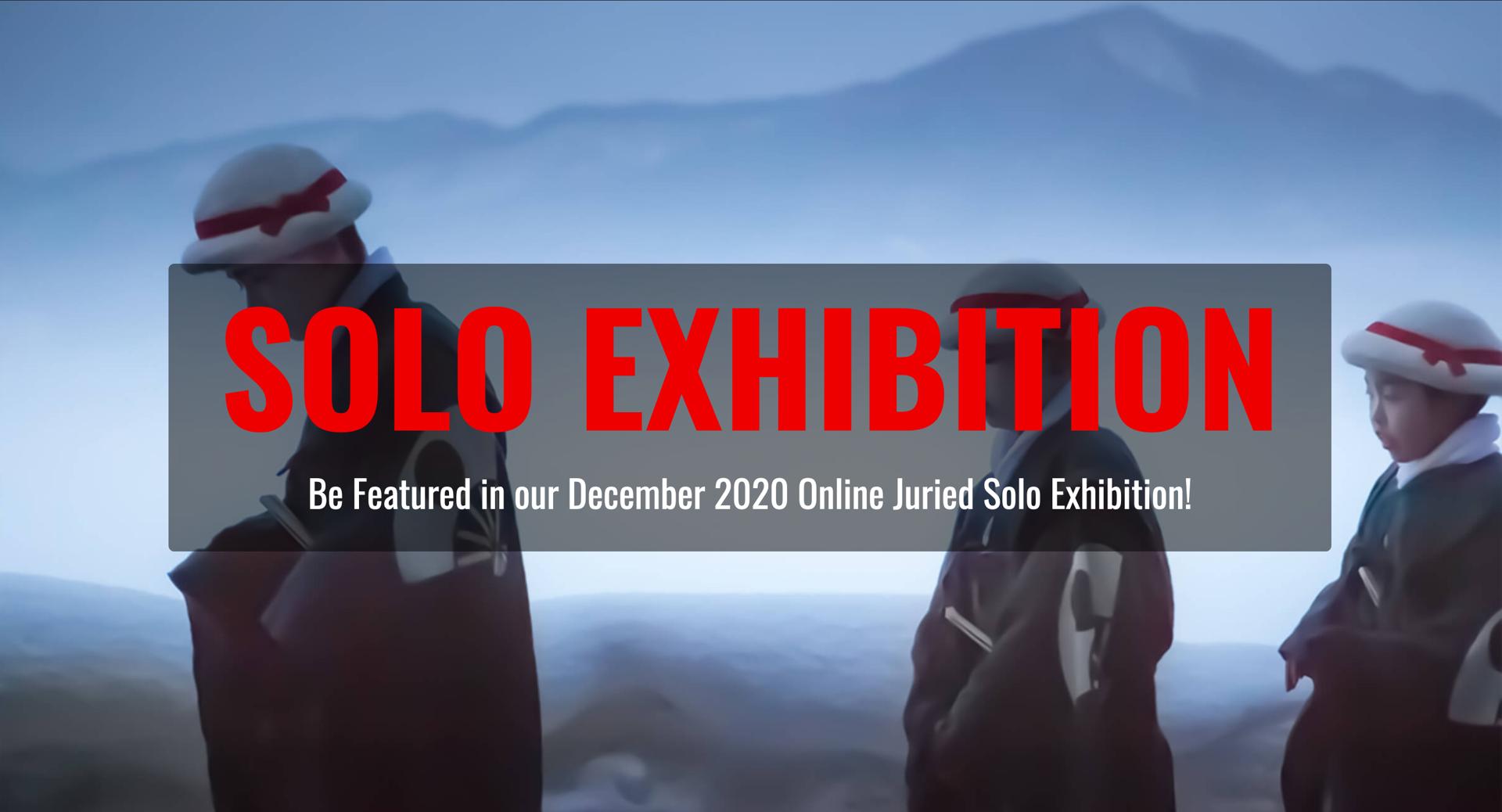 Solo Exhibition December 2020 image