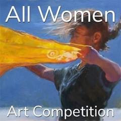 """10th Annual """"All Women"""" Online Art Competition image"""