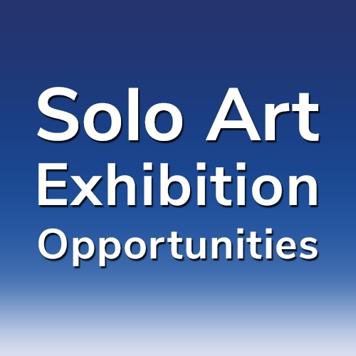 """17th """"Solo Art Series"""" - Solo Art Exhibition Opportunities image"""