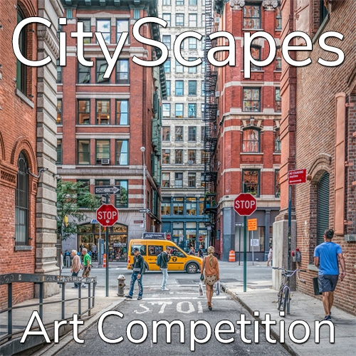 "11th Annual ""CityScapes"" Online Art Competition image"