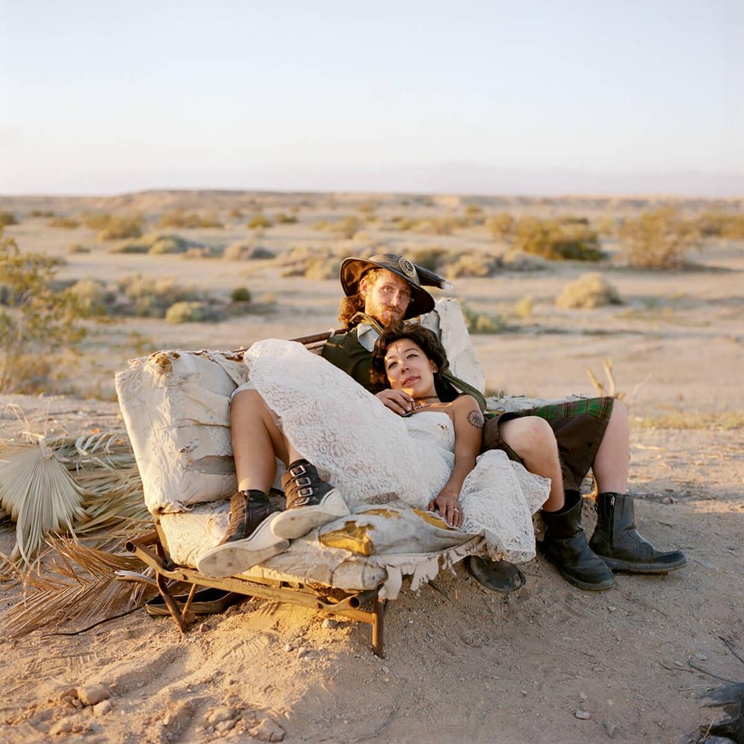 Shen and Merlin wedding portrait image