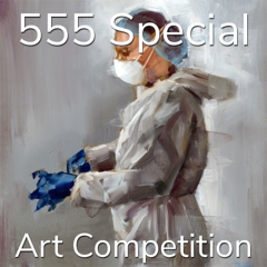 """3rd Annual """"5 Dollars, 5 Entries, 5 Winners"""" – Summer Special Art Competition image"""