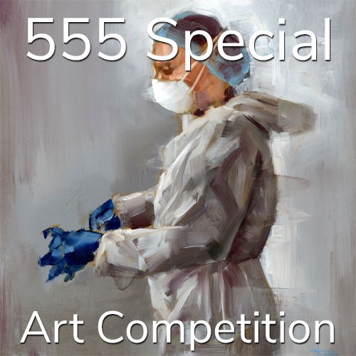 "3rd Annual ""5 Dollars, 5 Entries, 5 Winners"" – Summer Special Art Competition image"