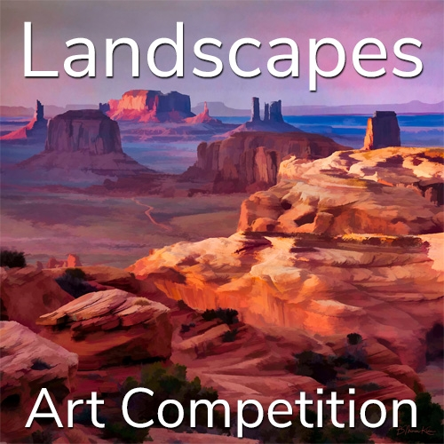 """Call for Art – 11th Annual """"Landscapes"""" Online Art Competition image"""