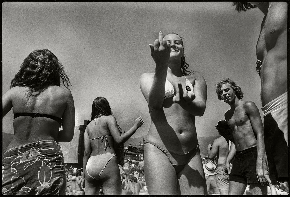 Teenagers at the US Festival image