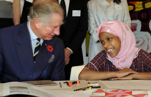 HRH The Prince of Wales visits the Australian Tapestry Workshop image