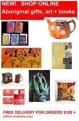 Shop online for Australian Indigenous gifts, art + books and McCullochs image