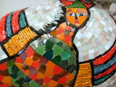 Learn how to make mosaics in a workshop this weekend image