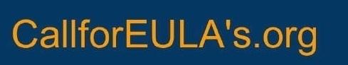 Curator calls for EULAs image