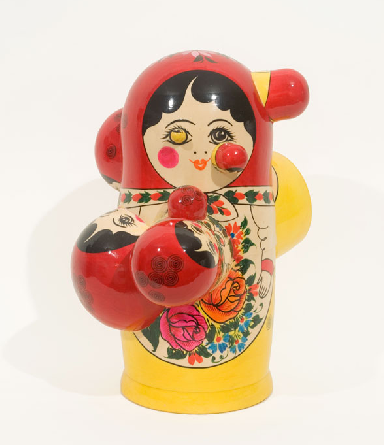 Chernobyl, 2007. Modified Russian Doll. image