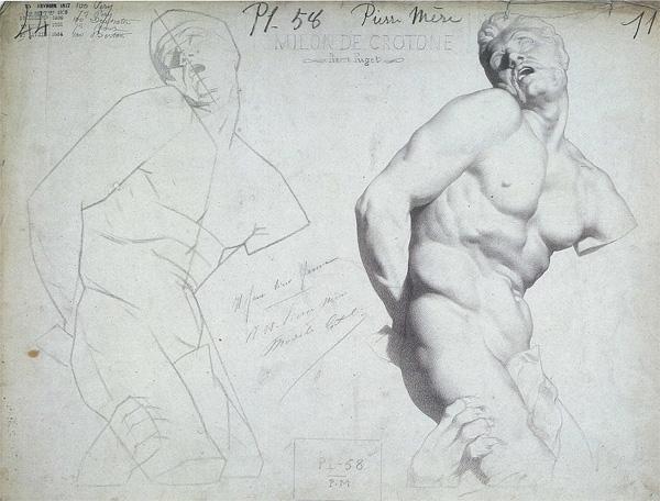 A Bargue Lithograph image